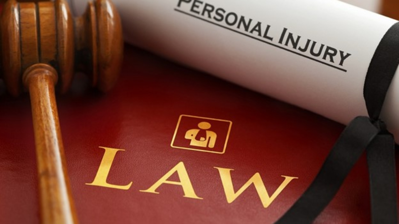 personal injury case document